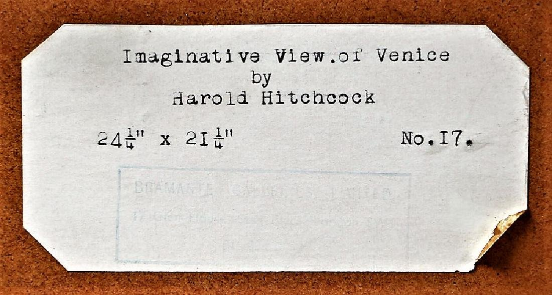 Harold Hitchcock, Imaginative View of Venice, - 4