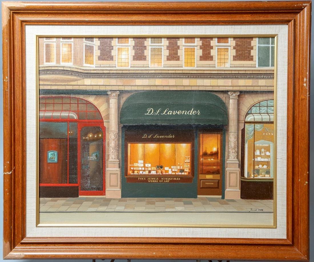Jureck Jablonski, D.L. Lavender Acrylic on Canvas