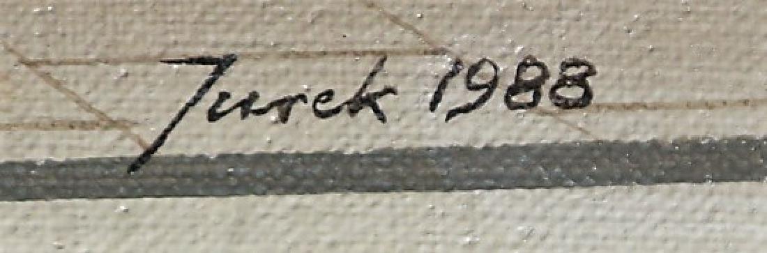 Jureck Jablonski, D.L. Lavender Acrylic on Canvas - 3