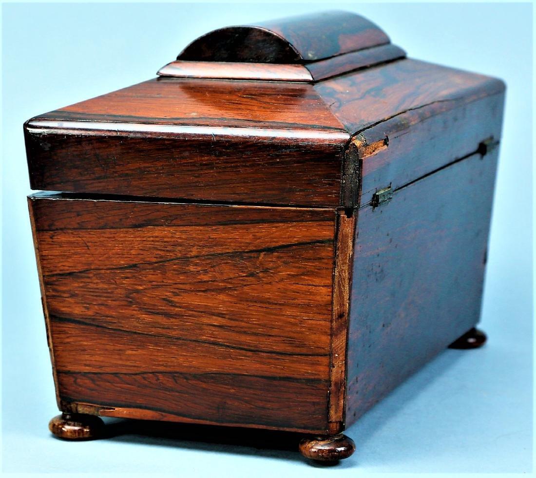 Antique English Tea Caddy - 3