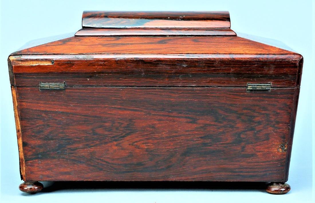 Antique English Tea Caddy - 4