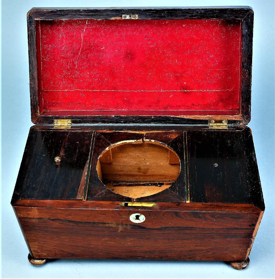 Antique English Tea Caddy - 6