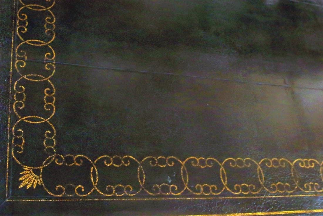 Beautiful Vintage Black Lacquer Style Coffee Table - 6