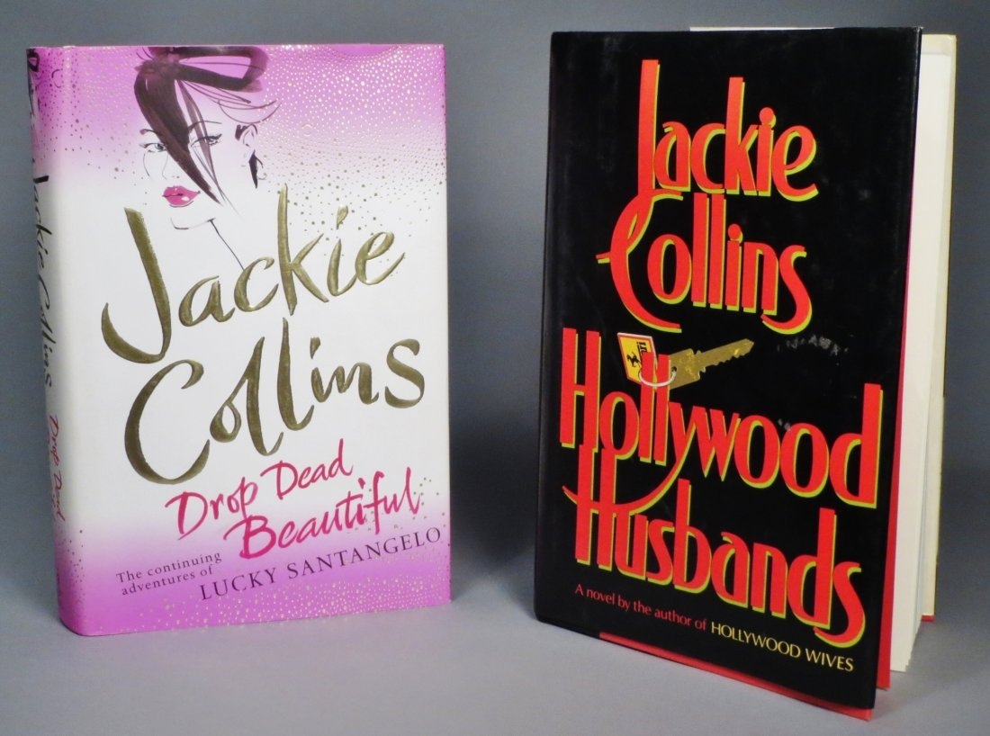 First Edition Jackie Collins Hardcover Books