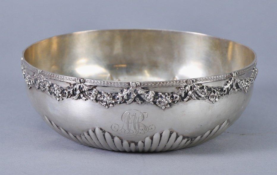 c1870 Wilhelm Binder 800 German Silver Bowl