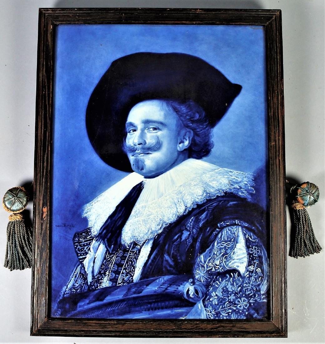 Dutch Delft De Porceleyne Fles Of Holland Large