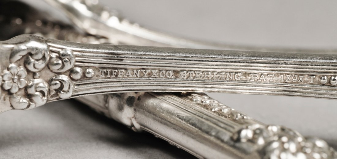 1892 Tiffany Sterling Flatware, St. James 39 pieces - 10