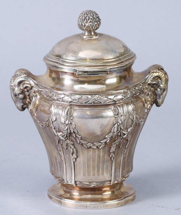 .950 Silver Mustard Jar, Emile Langlois, Tiffany & Co - 4