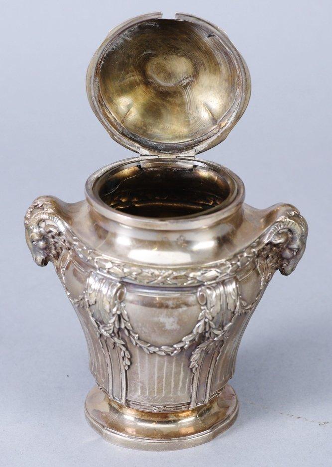 .950 Silver Mustard Jar, Emile Langlois, Tiffany & Co - 5