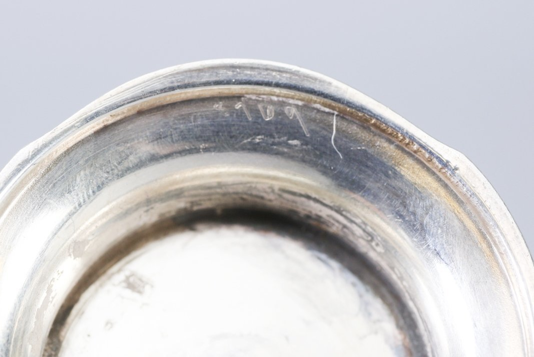 .950 Silver Mustard Jar, Emile Langlois, Tiffany & Co - 7