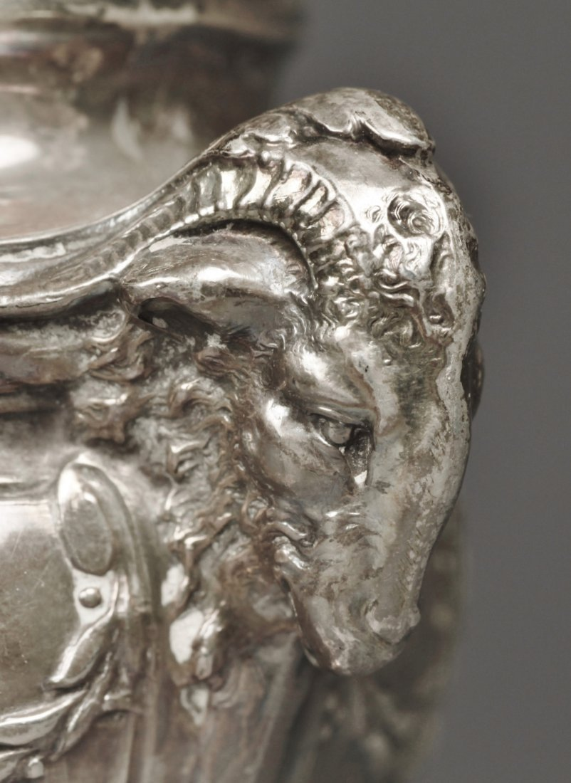 .950 Silver Mustard Jar, Emile Langlois, Tiffany & Co - 9
