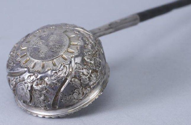 1708 Anna Dei Gratia Silver Toddy Ladle
