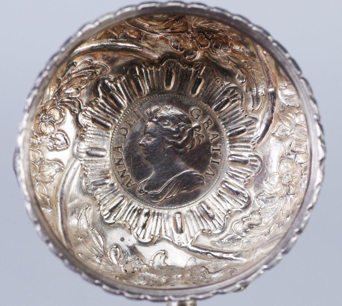 1708 Anna Dei Gratia Silver Toddy Ladle - 7