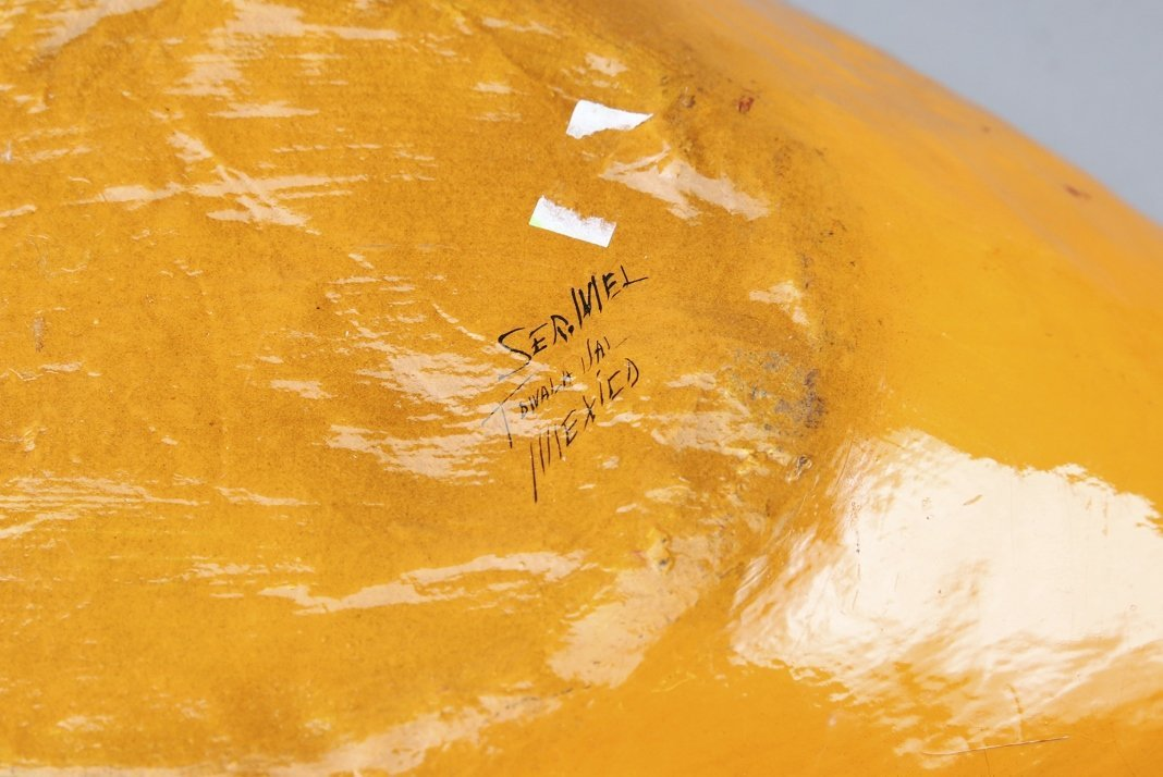 Larger Paper Mache Sermel Tonala Mexico Goose - 5