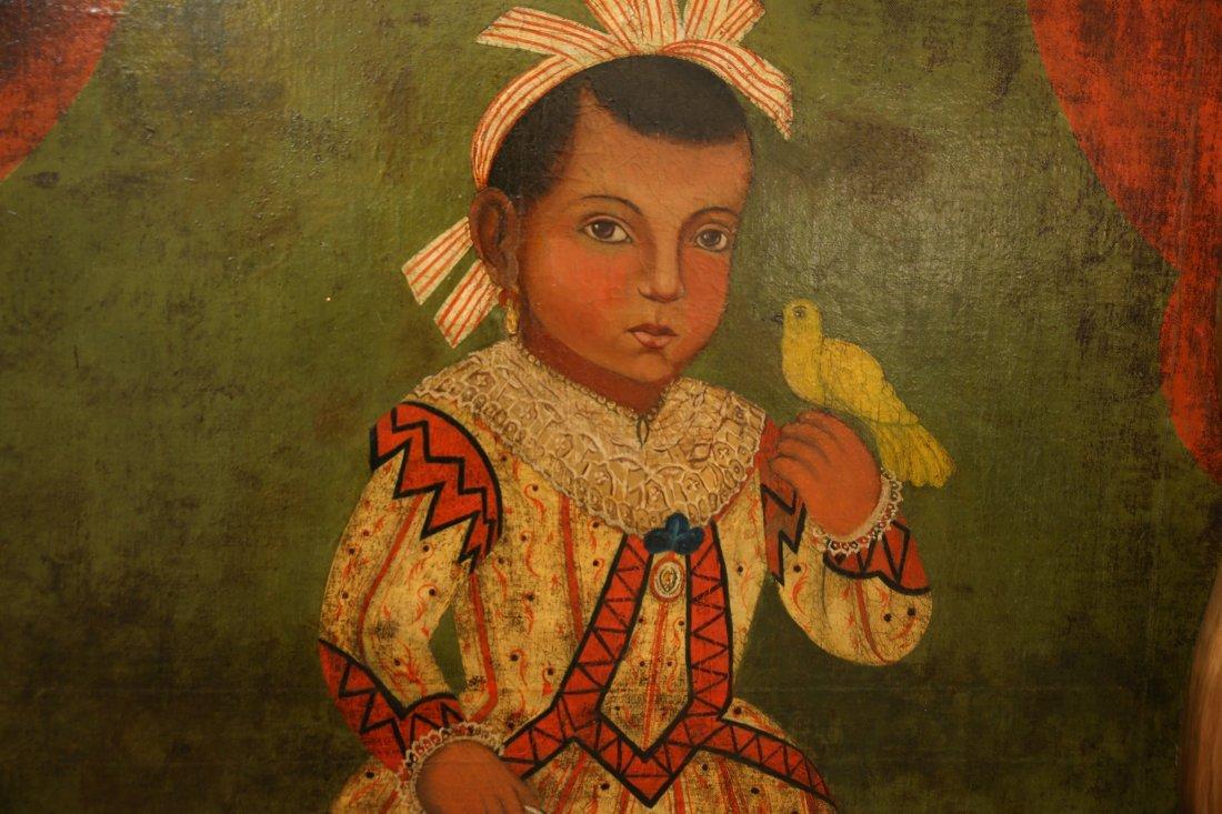 Spanish Colonial Child Portrait Flores Fred Davis  1864 - 5