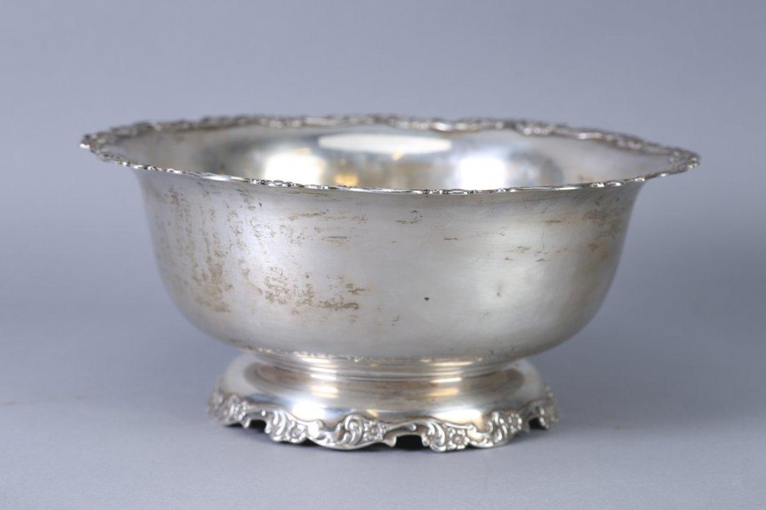 Antique 1896 Dominick & Haff Sterling Fruit Bowl