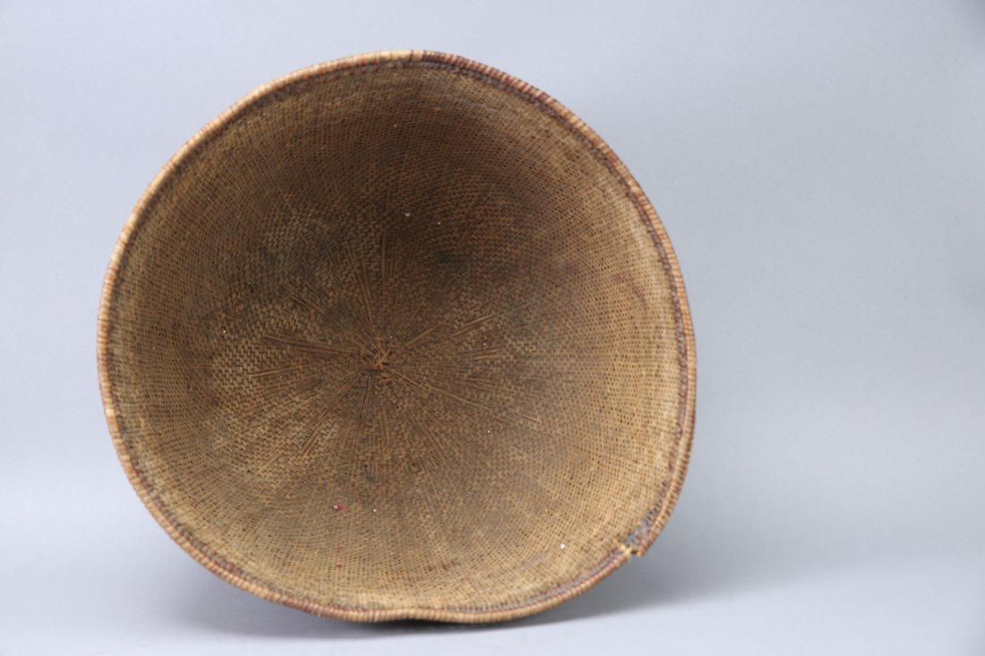 Large Antique Native American Basket California? - 2