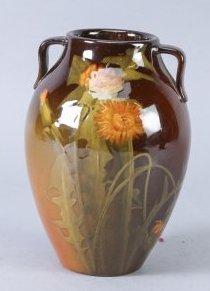1900 Rookwood Adeliza Drake Sehon Signed Vase, Hand Pai