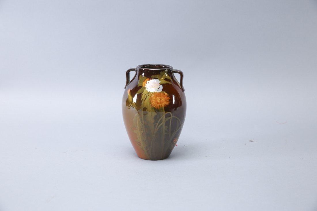 1900 Rookwood Adeliza Drake Sehon Signed Vase, Hand Pai - 2