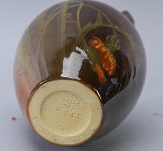 1900 Rookwood Adeliza Drake Sehon Signed Vase, Hand Pai - 4