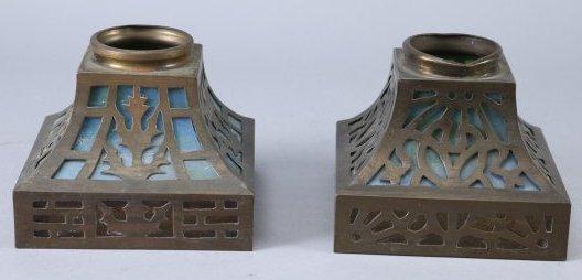 Arts & Crafts Period Lamp Shades