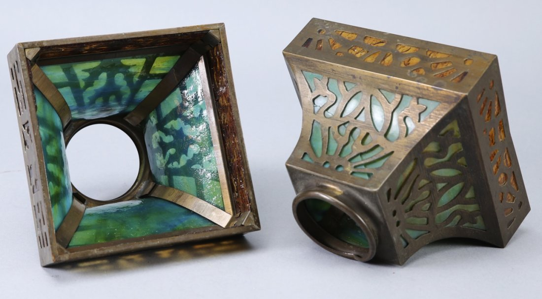 Arts & Crafts Period Lamp Shades - 2