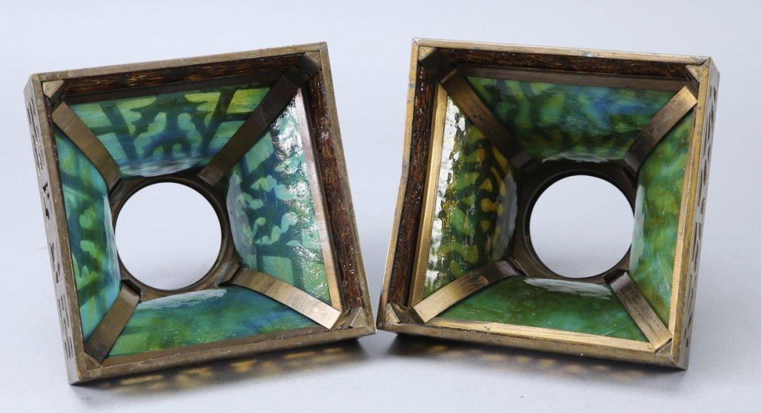 Arts & Crafts Period Lamp Shades - 3