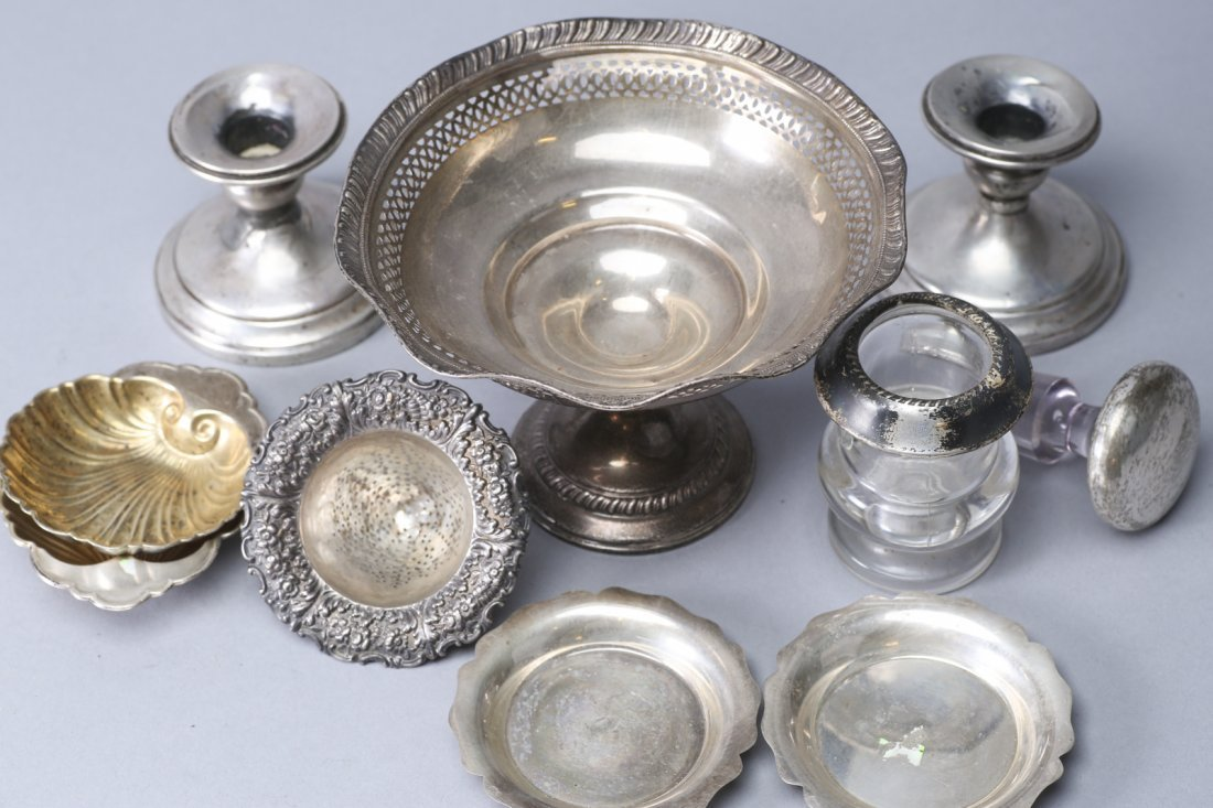 Misc Lot of Sterling and items