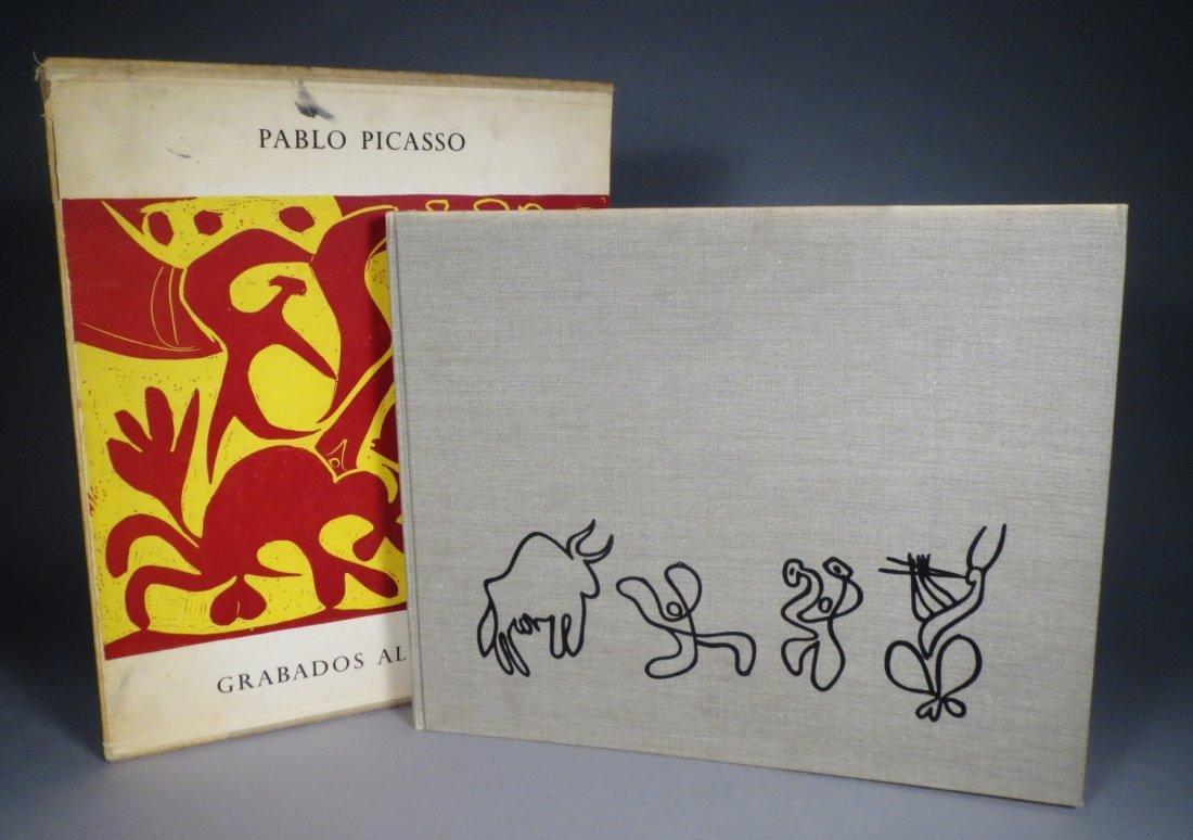 Pablo Picasso-Grabados Al Linoleo, 1963 Book Linocuts