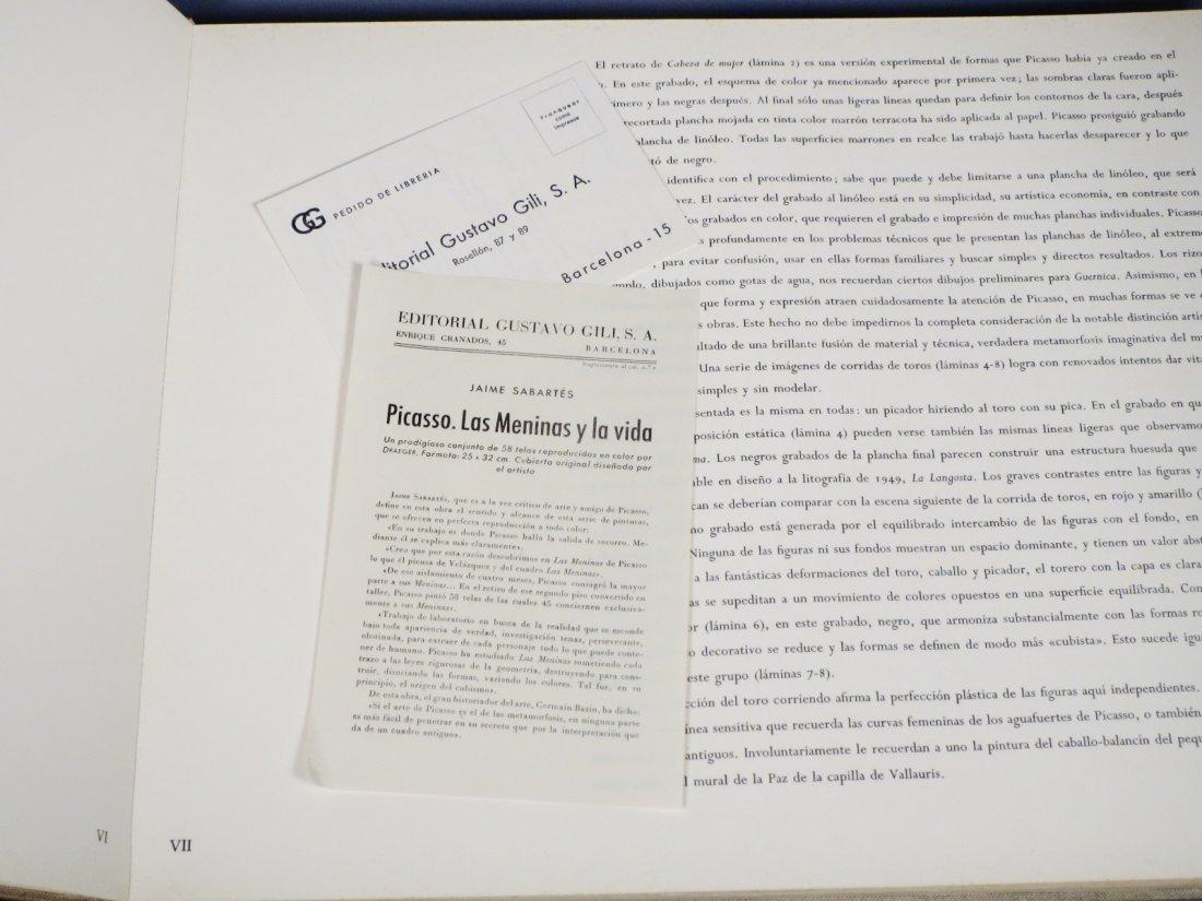 Pablo Picasso-Grabados Al Linoleo, 1963 Book Linocuts - 5