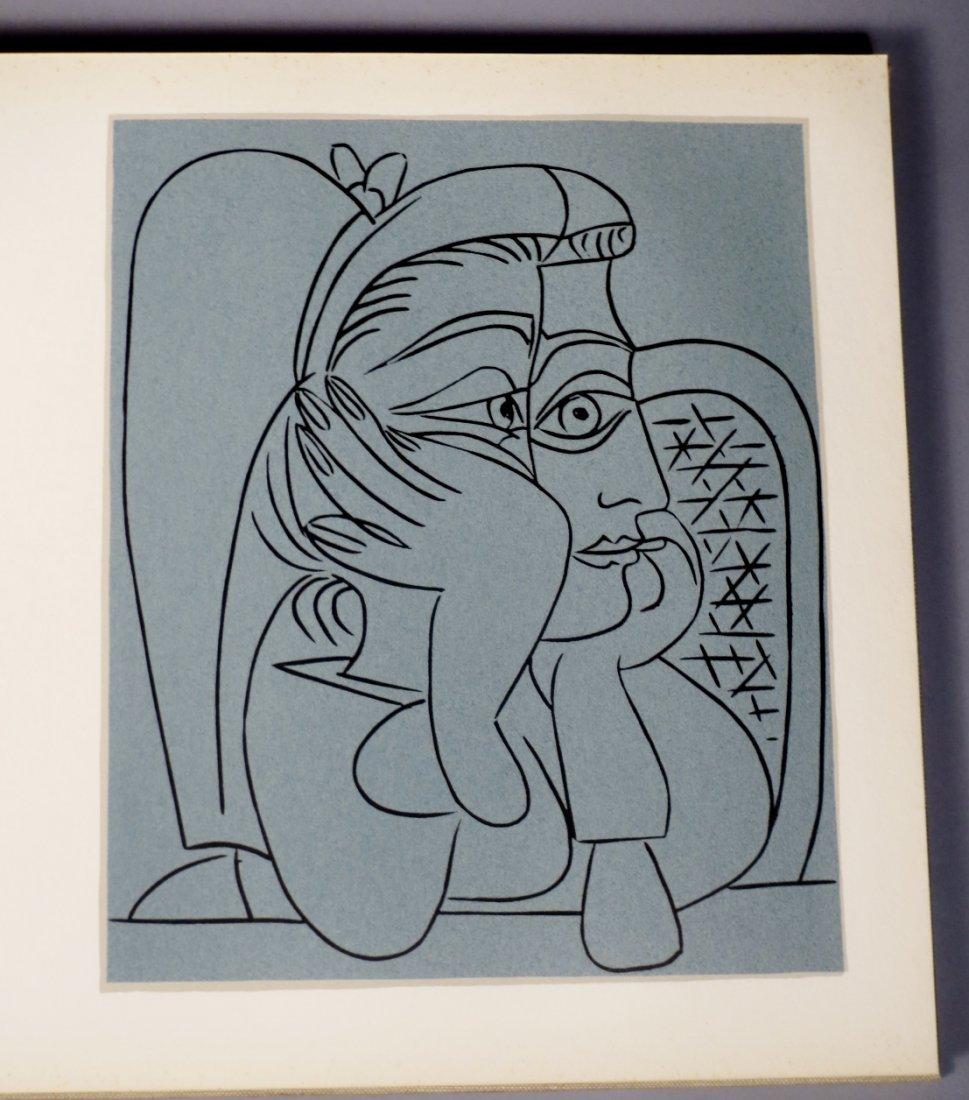 Pablo Picasso-Grabados Al Linoleo, 1963 Book Linocuts - 7