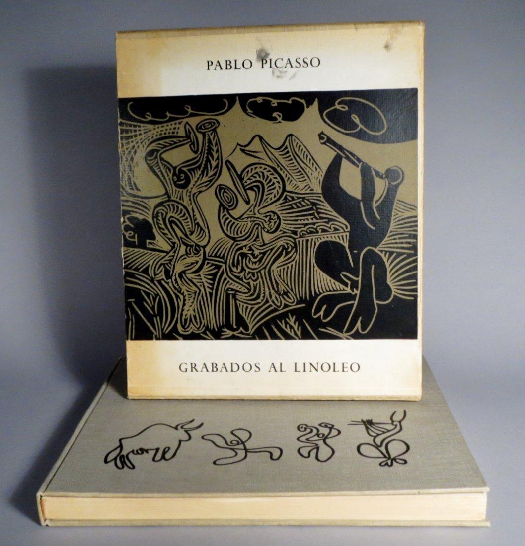 Pablo Picasso-Grabados Al Linoleo, 1963 Book Linocuts - 9