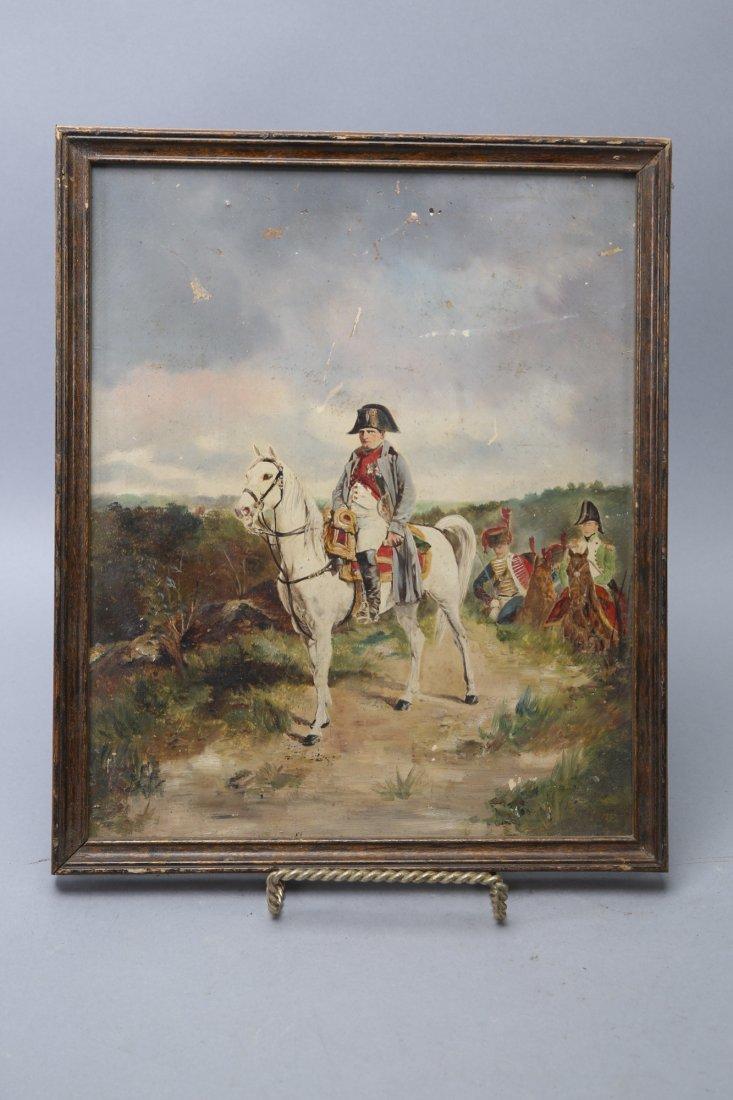 Napoleon, Oil On Board, painting - 2