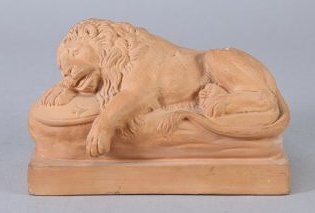 Terracotta Sculpture by Peter Ipsen Eneret