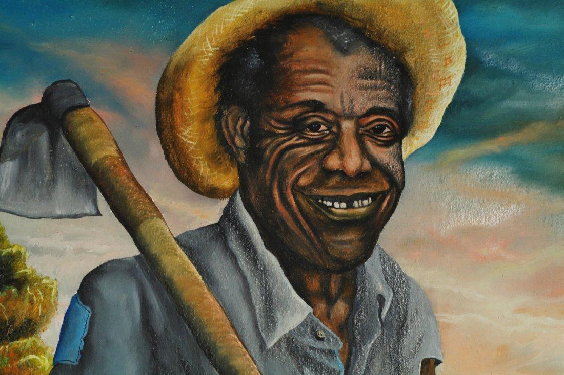 Jean Baptistie Botter Haitian 1918-1979 Pair of Oil - 3