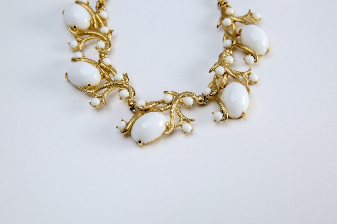 Vintage Schiapparelli  Earring & Necklace Set - 6