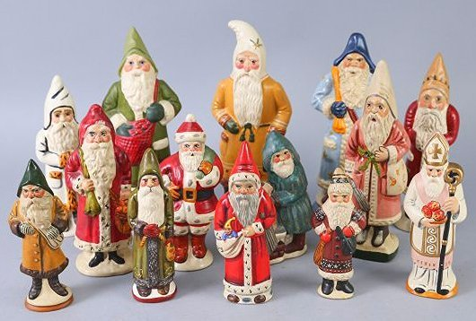 1980s & 1990s Vaillancourt Father Christmas/Santa Lot