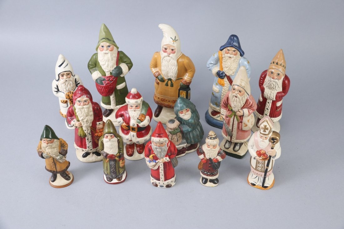 1980s & 1990s Vaillancourt Father Christmas/Santa Lot - 2