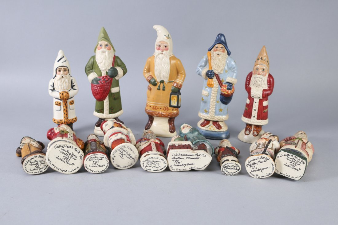 1980s & 1990s Vaillancourt Father Christmas/Santa Lot - 3