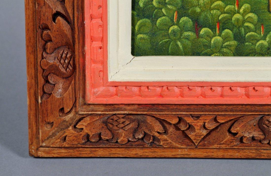 Bali Oil on Linen Artist Signed Painting - 6
