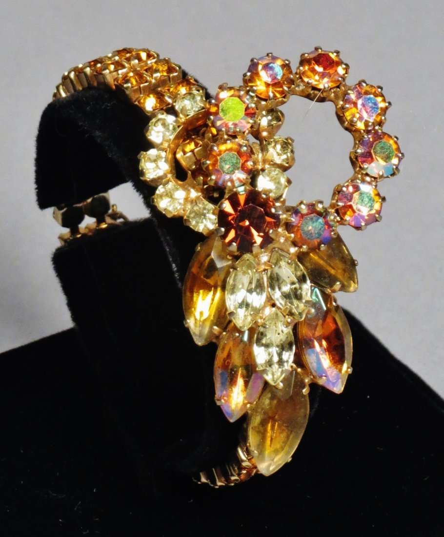 Three piece vintage Jewelry Juliana Brown , attri. - 3