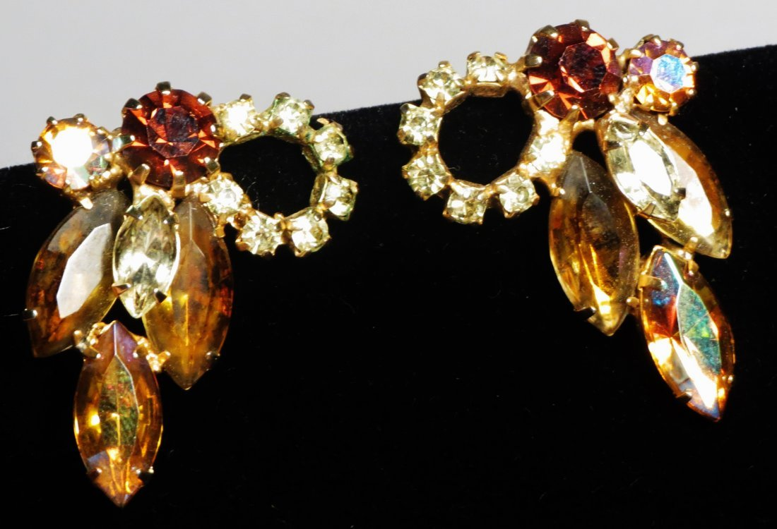 Three piece vintage Jewelry Juliana Brown , attri. - 4