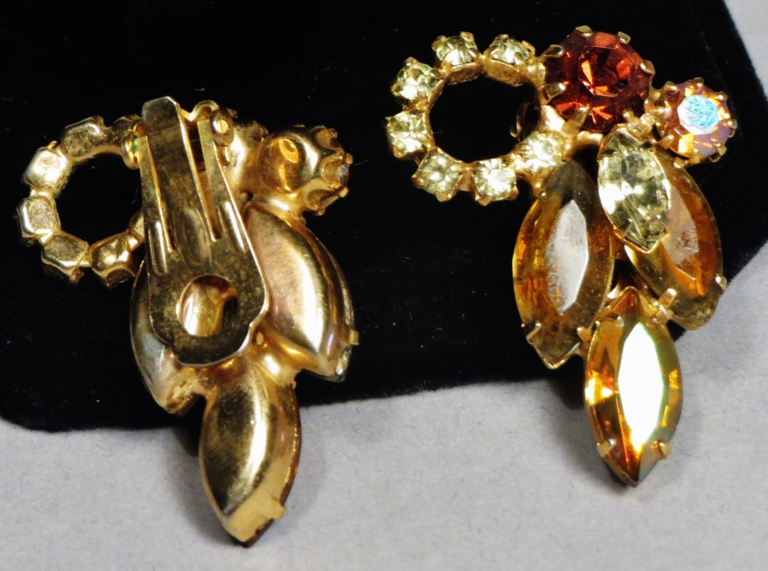 Three piece vintage Jewelry Juliana Brown , attri. - 6