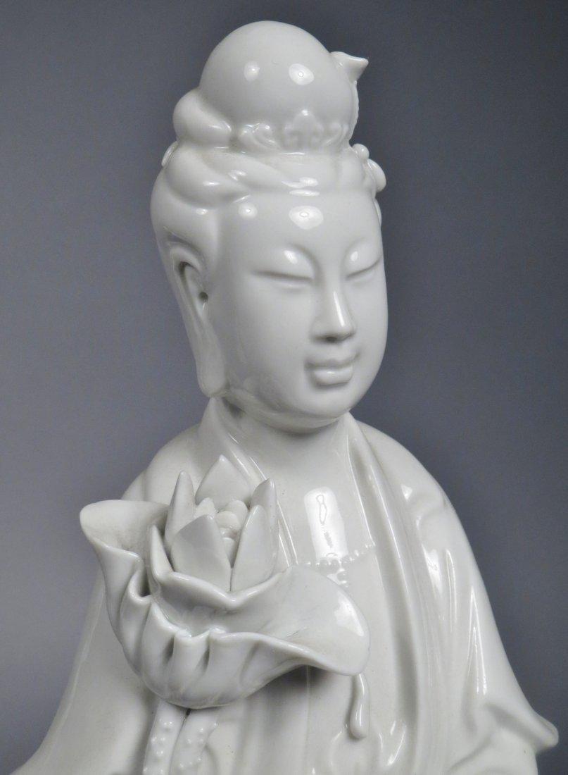Lot of Chinese Republic. Blanc de Chein, Quan Yin PLUS - 4