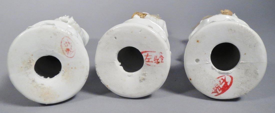 Chinese Republic Era Quan Yin Lot Of 6 - 9