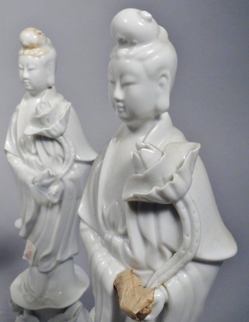 Chinese Republic Era Quan Yin Lot Of 6 - 5