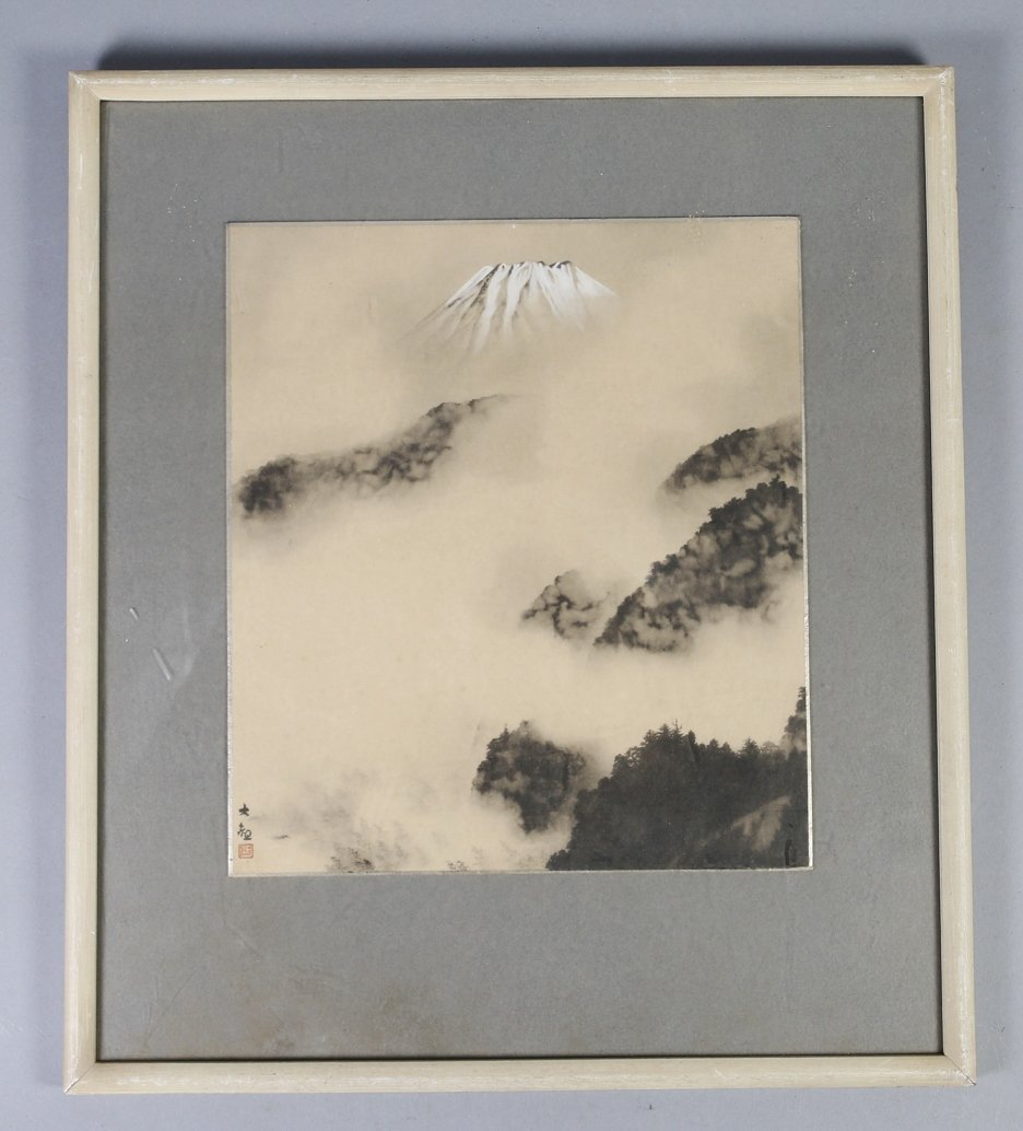 Japanese  Print of Mt.  Fuji