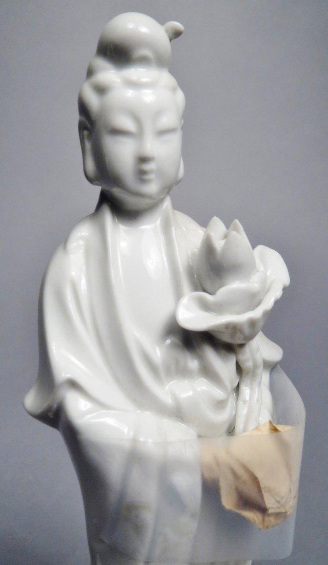 Lot Of 5 Blanc de Chien Chinese Republic Figurines - 6