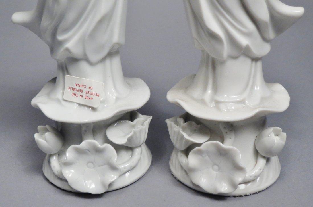 Lot Of 5 Blanc de Chien Chinese Republic Figurines - 7