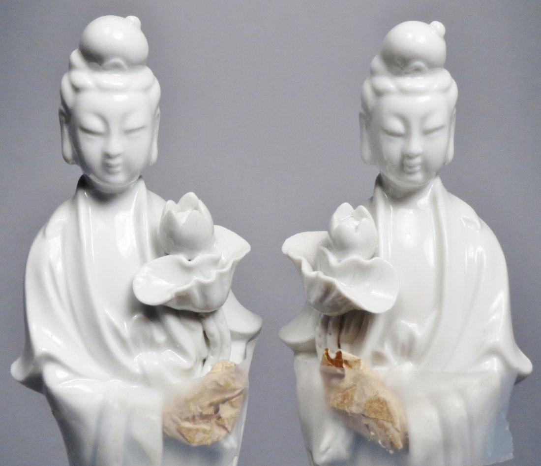 Lot Of 5 Blanc de Chien Chinese Republic Figurines - 8